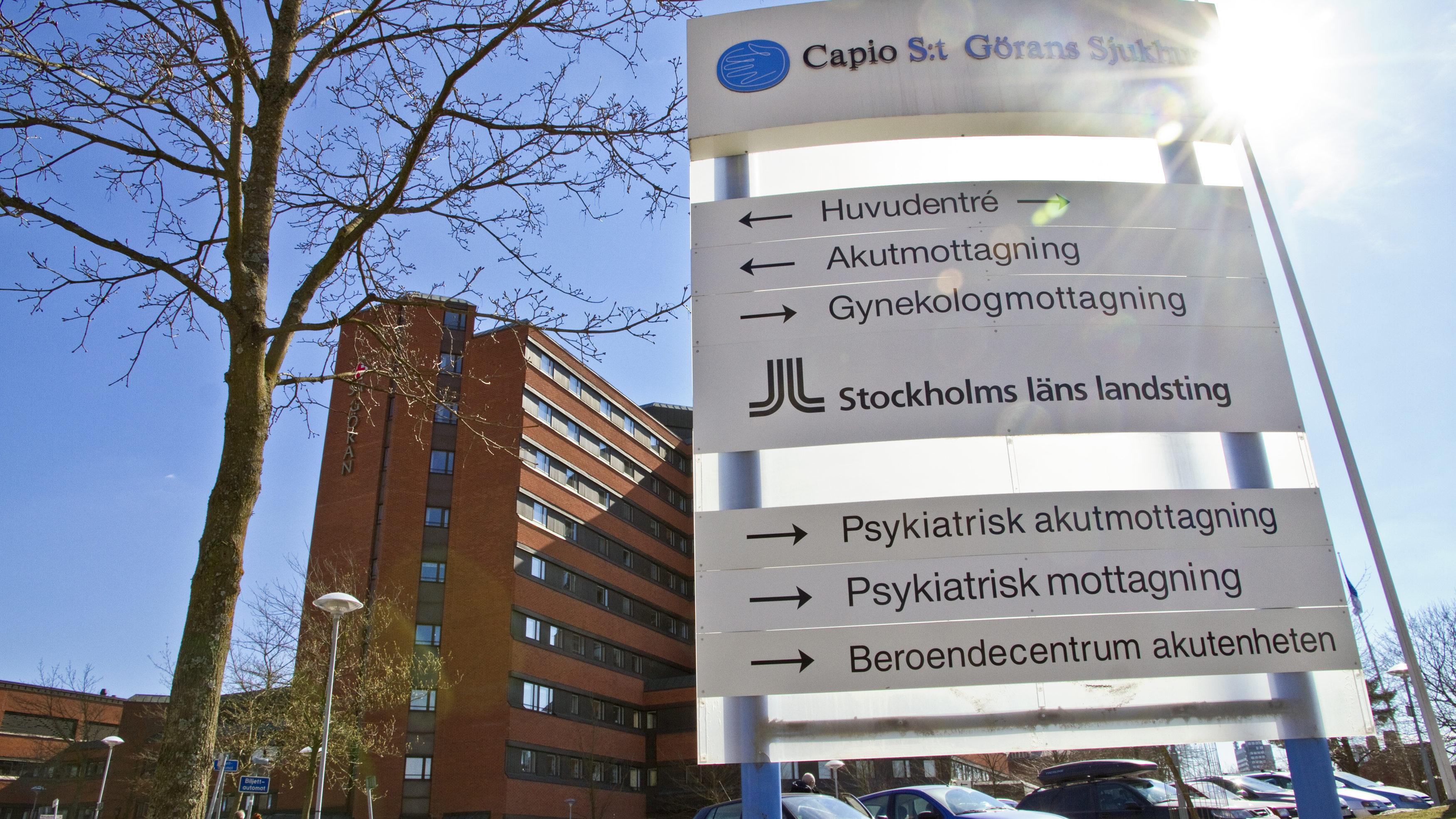 Extremt lage pa sodersjukhuset i stockholm